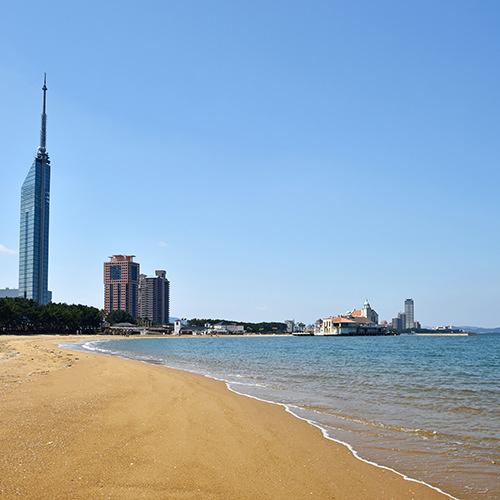 百道浜地区
